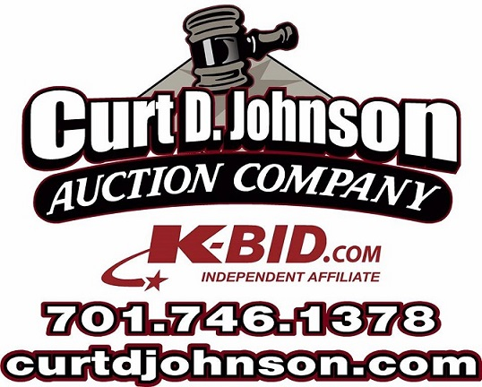 Curt D. Johnson Auction Company Logo