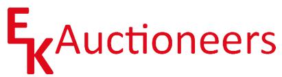 EK Auctioneers Logo