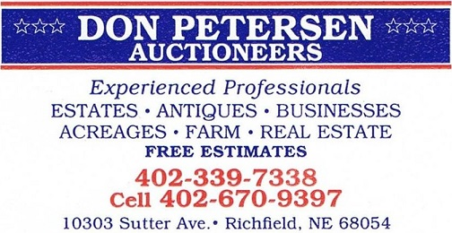 Don Petersen Auctioneers Logo