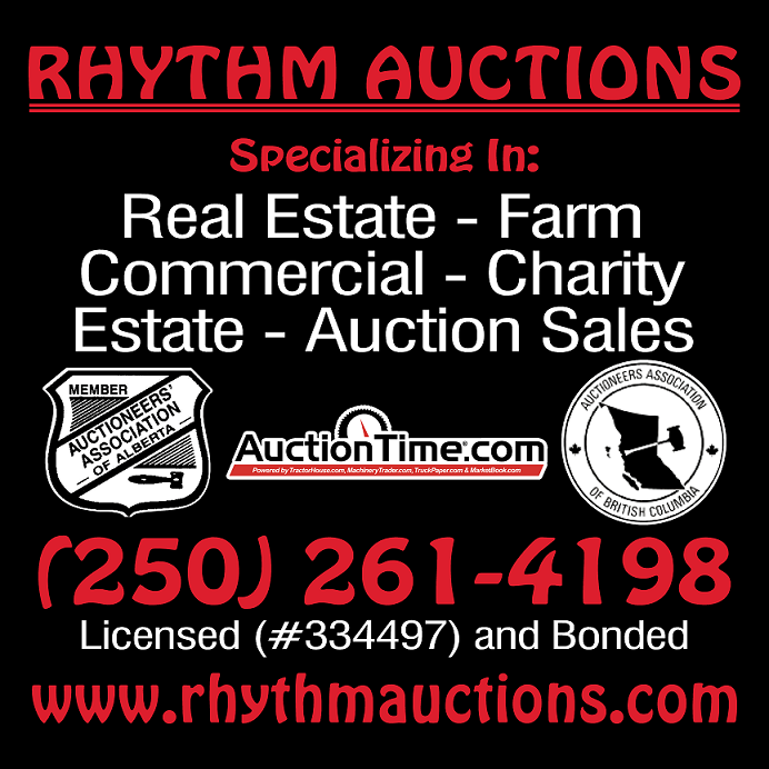 Rhythm Auctions Logo