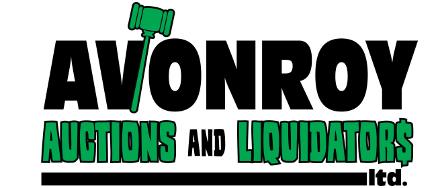 Avonroy Auctions & Liquidators Logo