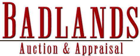 Badlands Auction and Appraisal  Logo